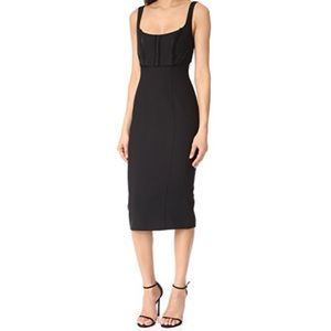 Cinq A Sept Black Ellette Dress Size 4 NWT